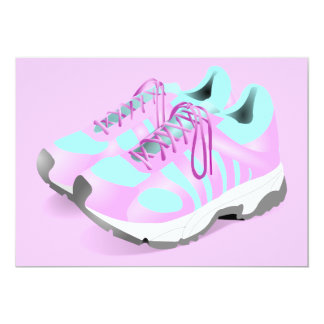 shoes-157716 CUTE PINK ATHLETIC RUNNERS STYLISH  s Card
