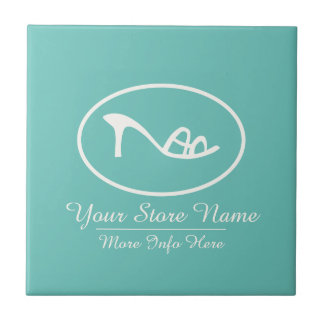 Shoes and Accessories Logo Ceramic Tile
