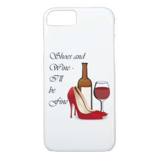 Shoes and Wine iPhone Case