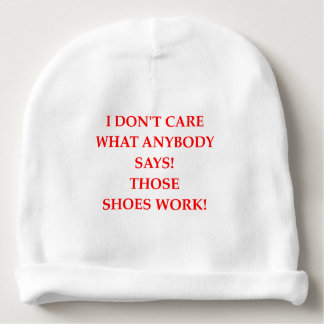 shoes baby beanie