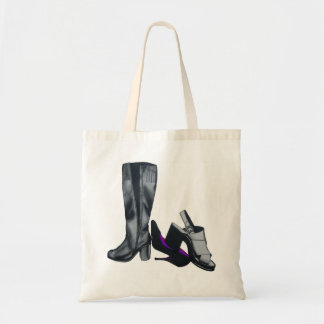 Shoes Boots Heels silly funny art fashion Tote Bag