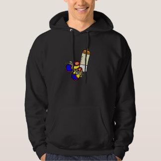 shoes bottle hoodie