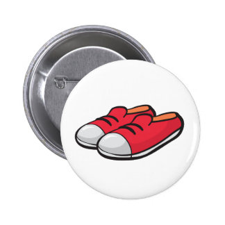 shoes 2 inch round button