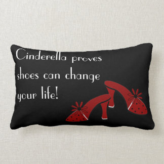 Shoes can change your life pillows