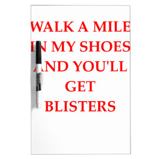 SHOES Dry-Erase BOARD