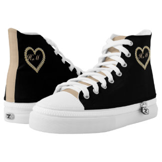 Shoes-HighTop ZIPZ® designed,unique custom sneaker