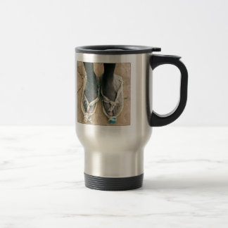 Shoes in Africa Travel Mug