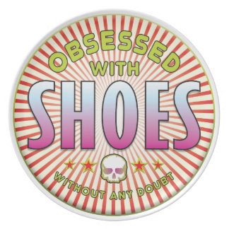 Shoes Obsessed R Dinner Plate