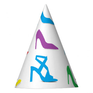 """Shoes"" Party Hats"