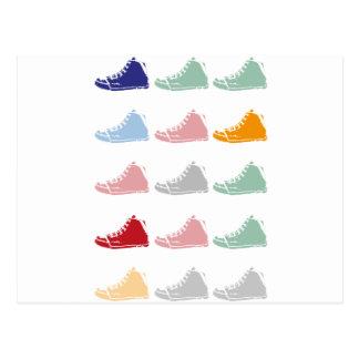 shoes postcard