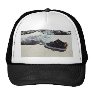 Shoes Sand and Sea Trucker Hat