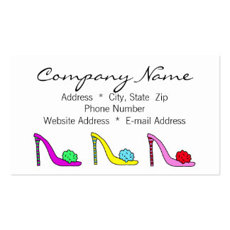 Shoes Shoes Shoes Business Calling Card Business Card Templates