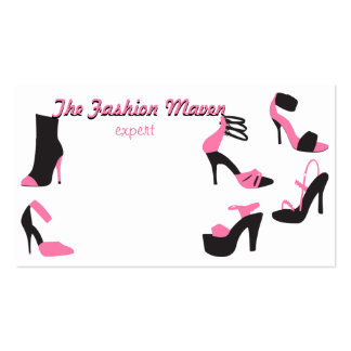 Shoes Shoes Shoes! Business Card Template