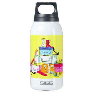 Shoes Shoes Shoes & Luggage Cute Colorful Design Thermos Water Bottle