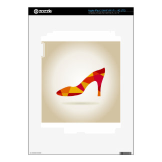 Shoes Skin For iPad 3