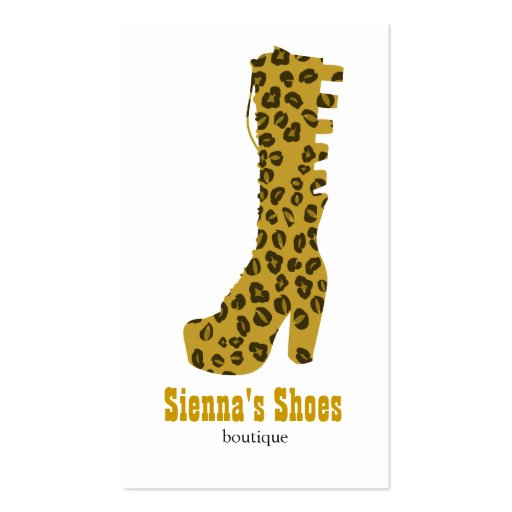 Shoes Store Business Card