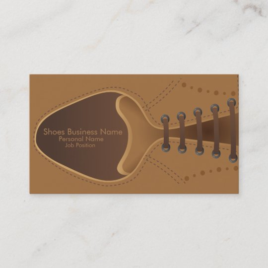 Shoes store shop business business card zazzle shoes store shop business business card reheart Image collections