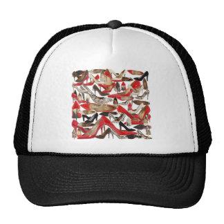 shoes trucker hat