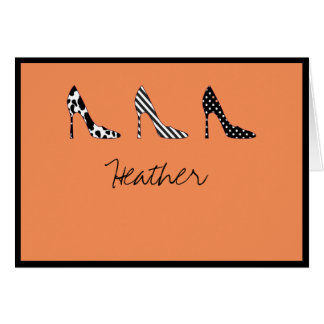 Shoesies Greeting Cards