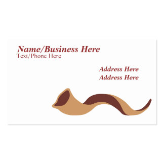 Shofar Logo Double-Sided Standard Business Cards (Pack Of 100)