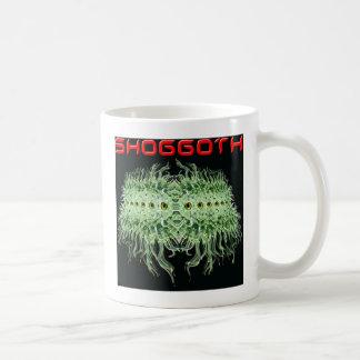 Shoggoth de Lovecraft Taza Básica Blanca