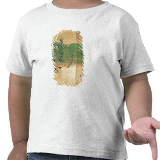 Shogún que viaja en la primavera, período de Edo Camiseta