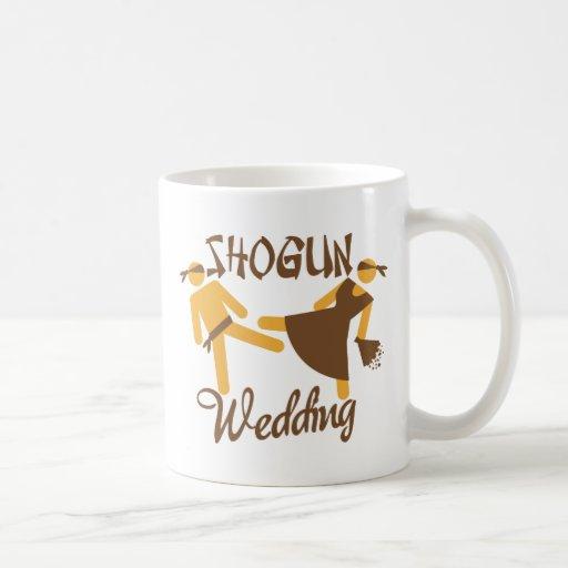 shogun wedding coffee mugs