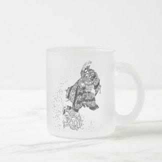 Shoki the Demon Slayer and Oni Frosted Mug