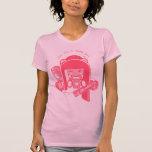 """Shokio"" Peace, Love & Bubblegum Shirt"