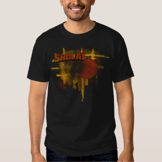 Sholay Distressed with Coin T Shirt