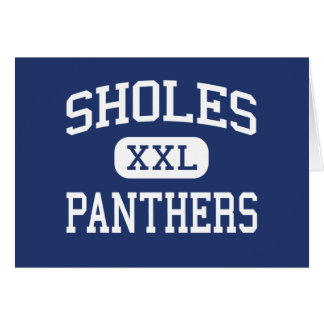 Sholes Panthers Middle Milwaukee Wisconsin Greeting Card