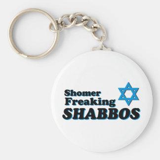 Shomer Freaking Shabbos Key Chains