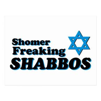Shomer Freaking Shabbos Postcard