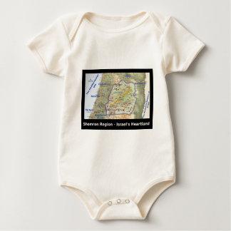 Shomron The Heartland of Israel Baby Bodysuit
