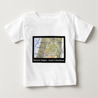 Shomron The Heartland of Israel Baby T-Shirt