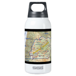 Shomron The Heartland of Israel Insulated Water Bottle