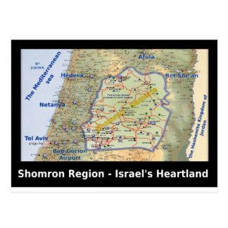Shomron The Heartland of Israel Postcard