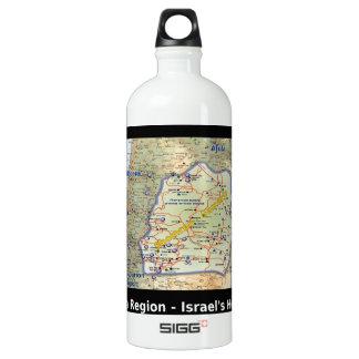 Shomron The Heartland of Israel Water Bottle