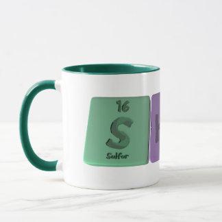 Shona  as Sulfur Holmium Nitrogen Mug