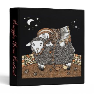 Shonaghs Sheep Ring Binder