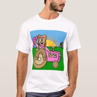 Shonda Strip Mary-Ann the Farmer's Daughter T-Shirt