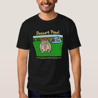 Shonda's Animal Crackups Dessert Time T-Shirt Dark