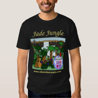 Shonda's Realm Jade Jungle (Dark) T-Shirt