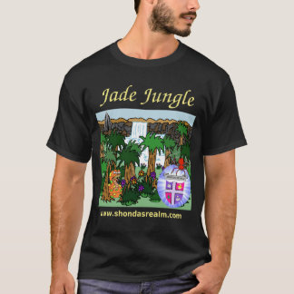 Shonda's Realm Jade Jungle (Dark) T-Shirt
