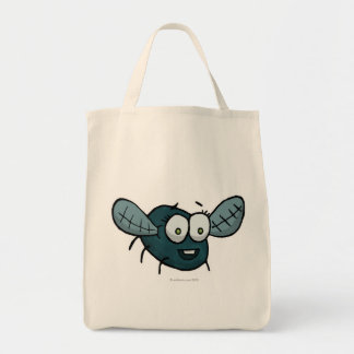 Shoo fly, don't bother me grocery tote bag