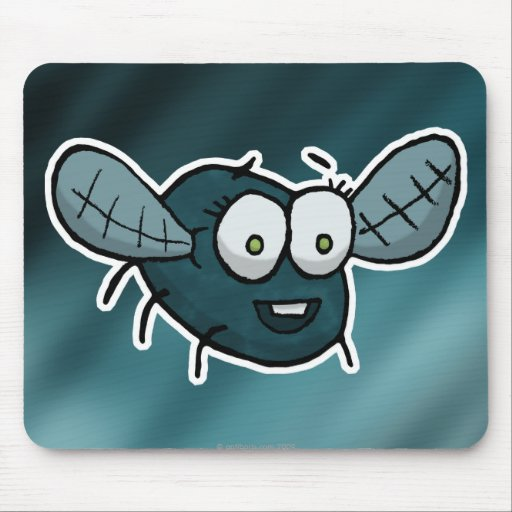 Shoo fly, don't bother me mousepads
