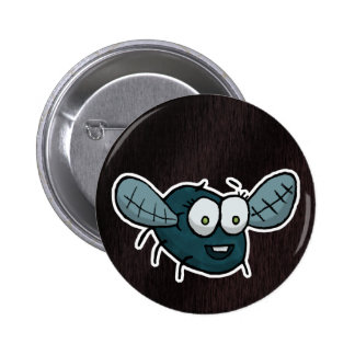 Shoo fly, don't bother me pinback button