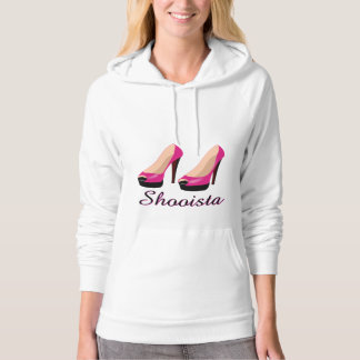 Shooista Fashion Women's Shoes Hoodie Sweatshirt
