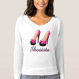 Shooista Fashion Women's Shoes Tshirt Clothing