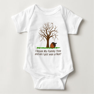 Shook My Family Tree and got a Nut Baby Bodysuit